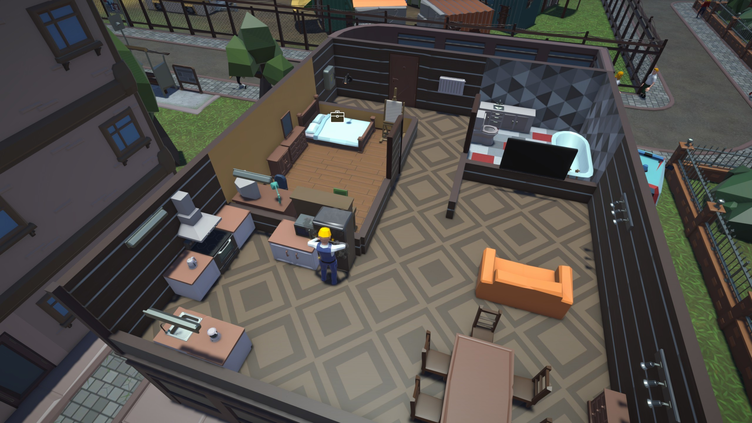 The Tenants - Gameplay