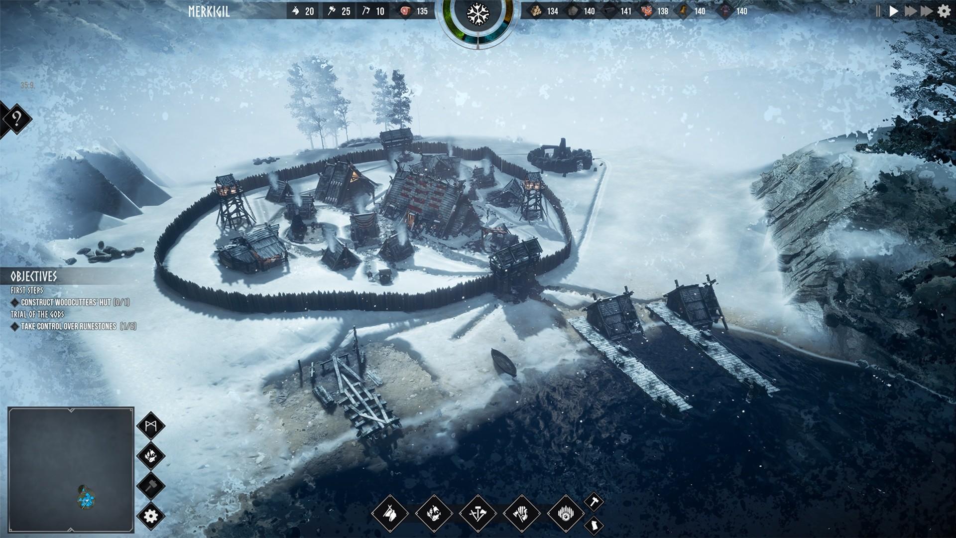 Frozenheim - City Building