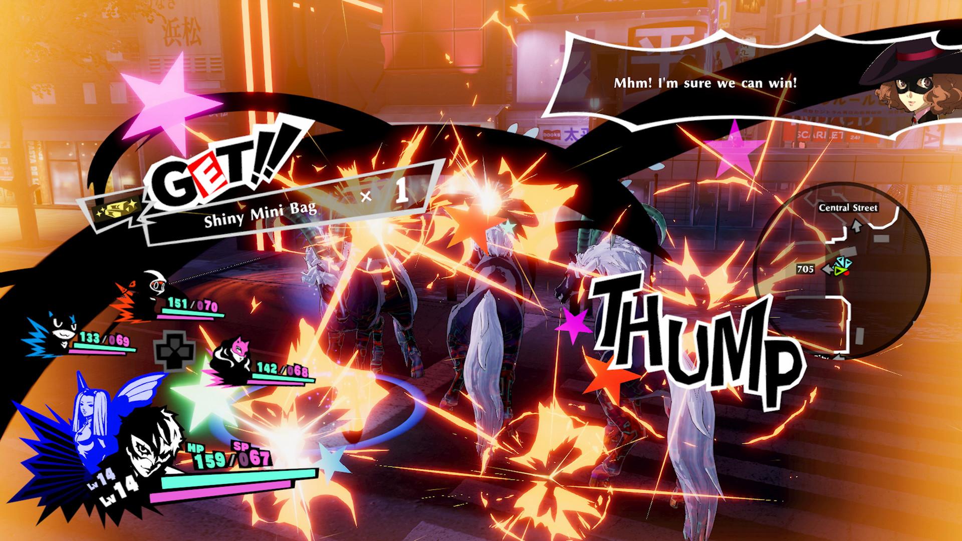 Persona 5 Strikers - Combat