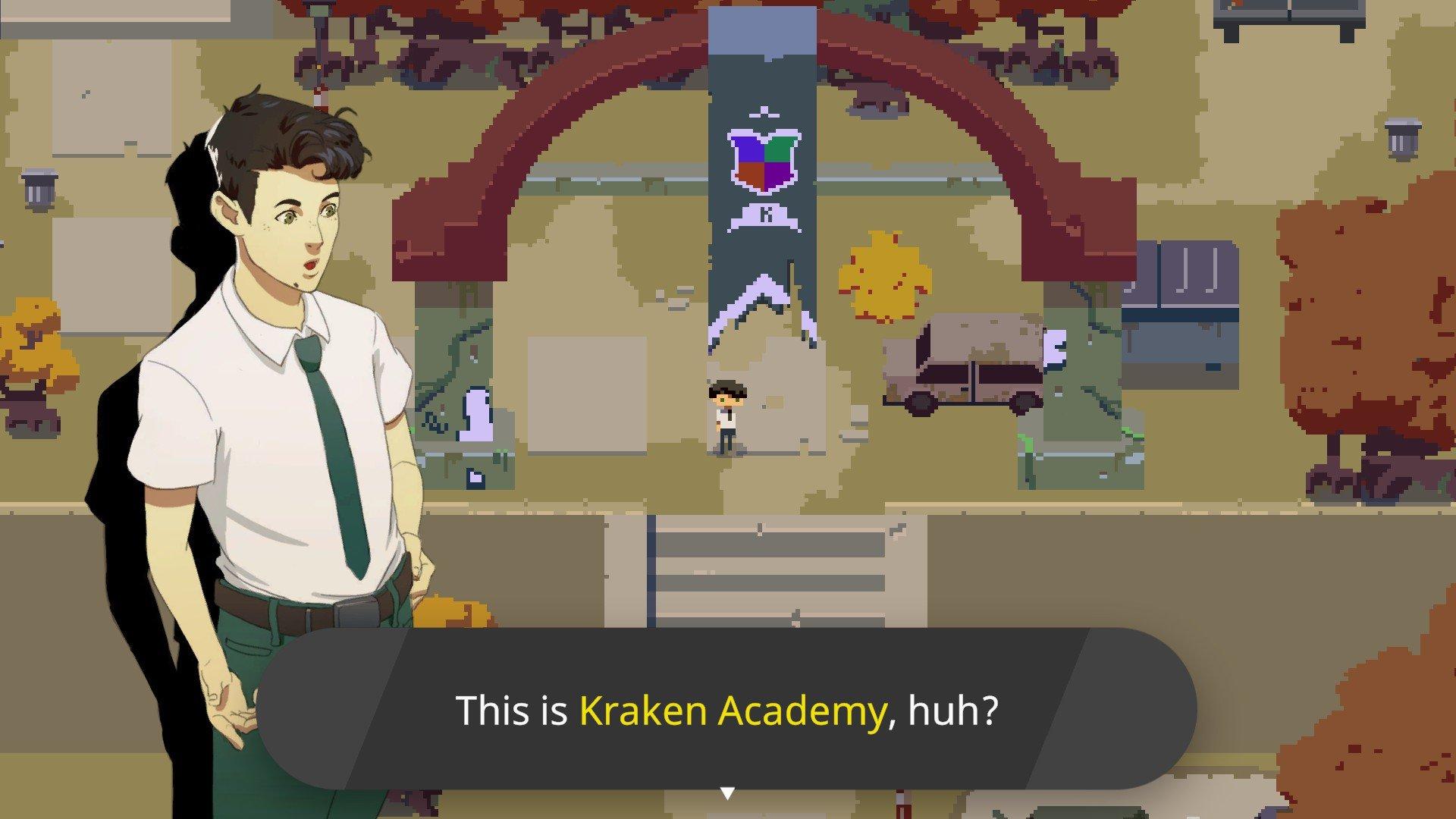 Kraken Academy!! - Exploration