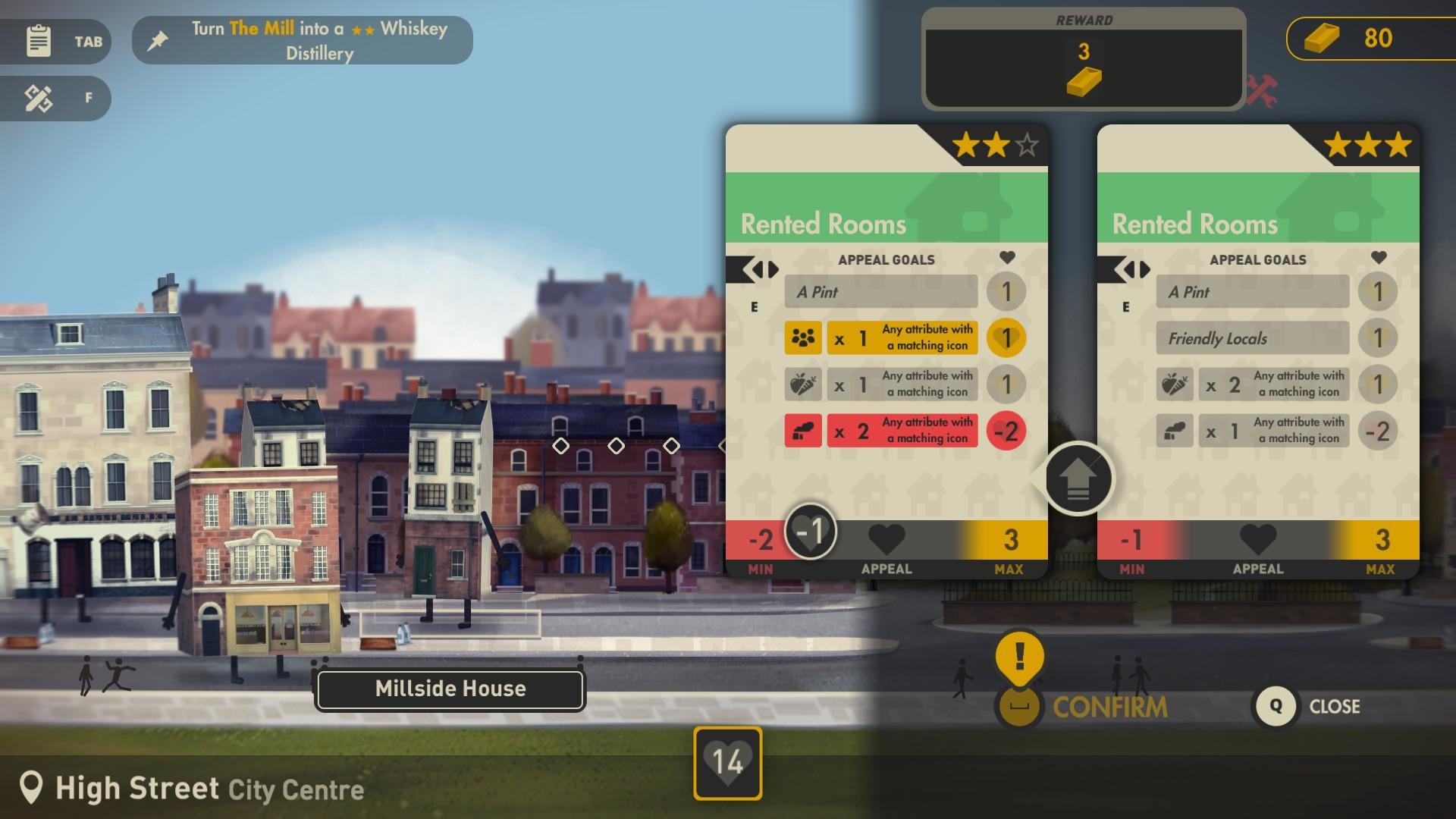 Buildings Have Feelings Too! - Gameplay