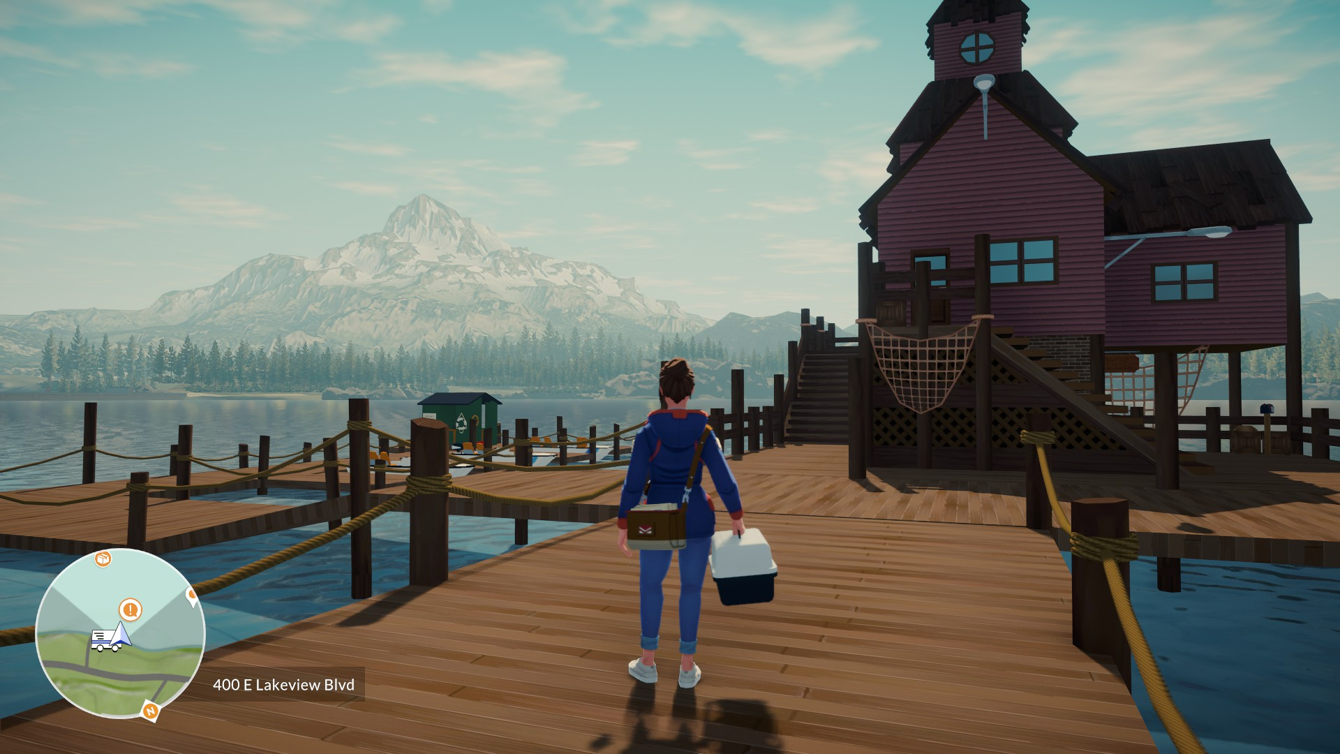 Lake - Gameplay