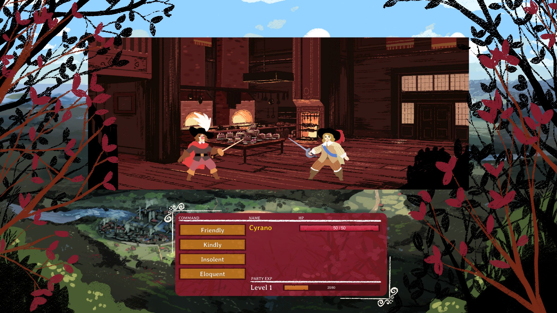 Cyrano - Combat
