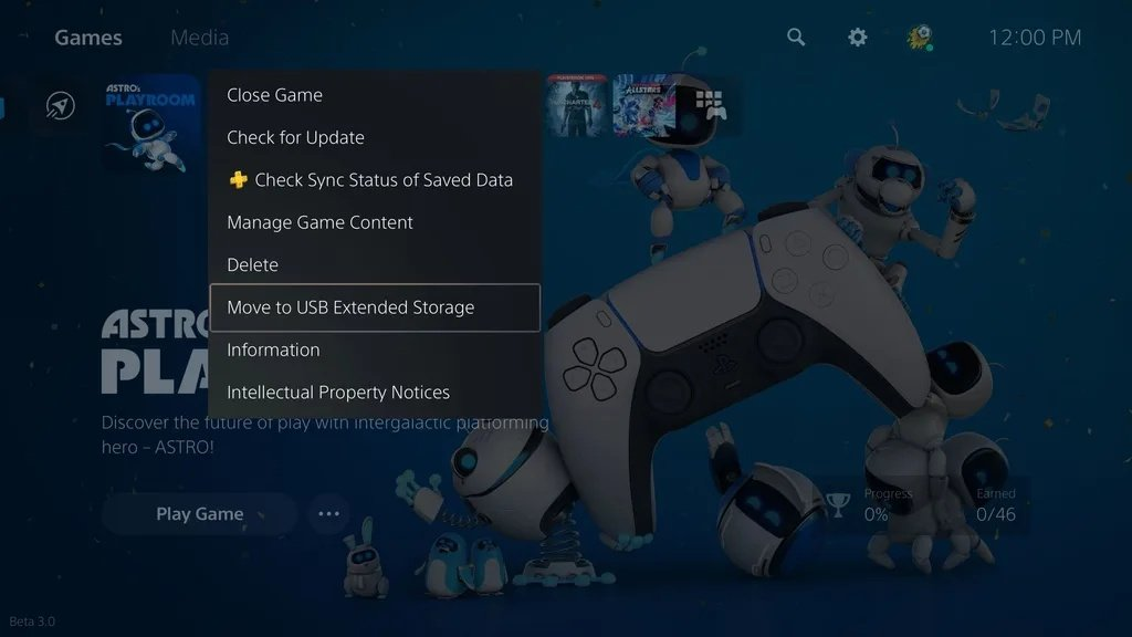 PS5 Extended Storage