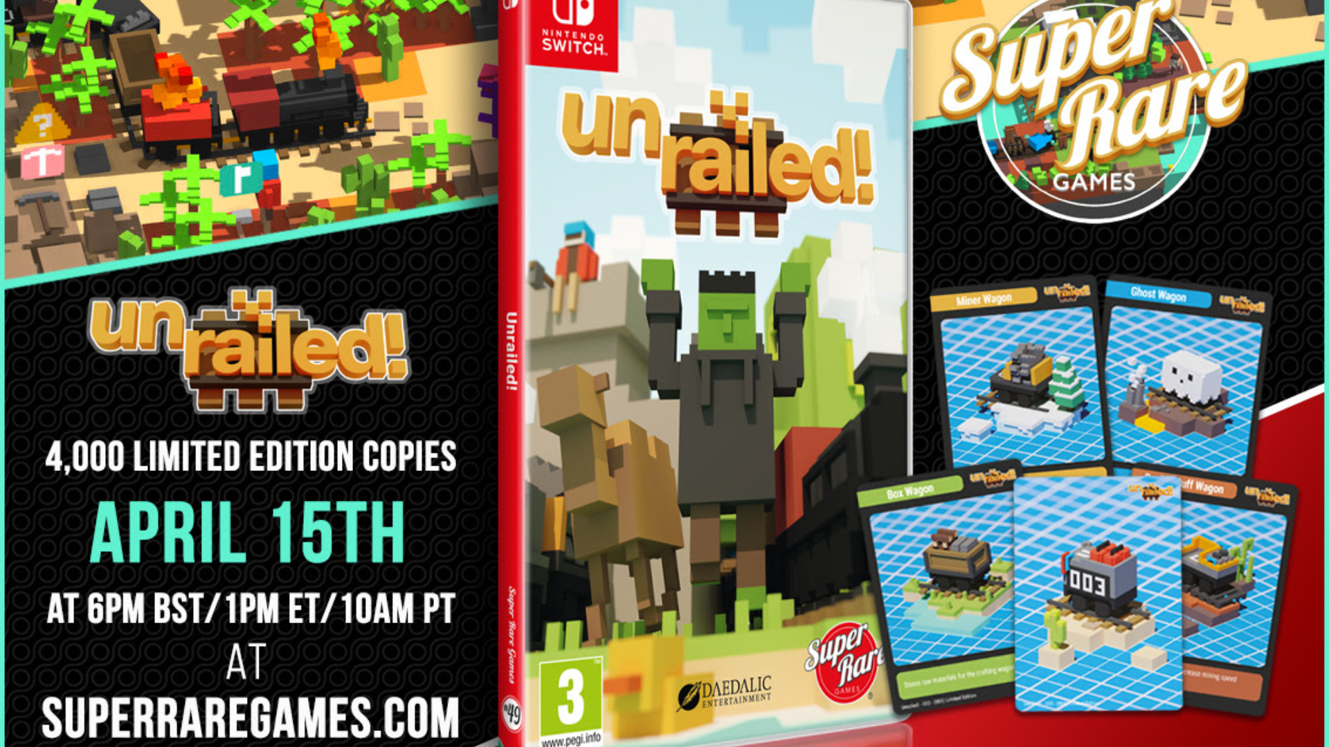 Unrailed! - Feature Image