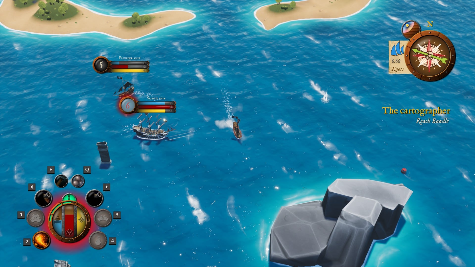 King of Seas - Gameplay
