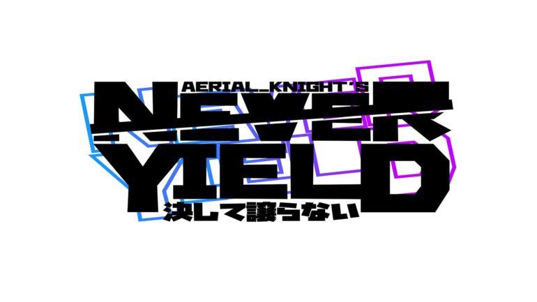 Aerial_Knight's Never Yield Header Logo