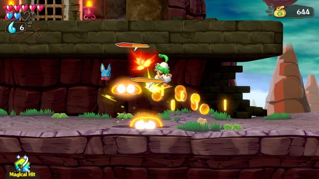 Wonder Boy: Asha in Monster World - Gameplay