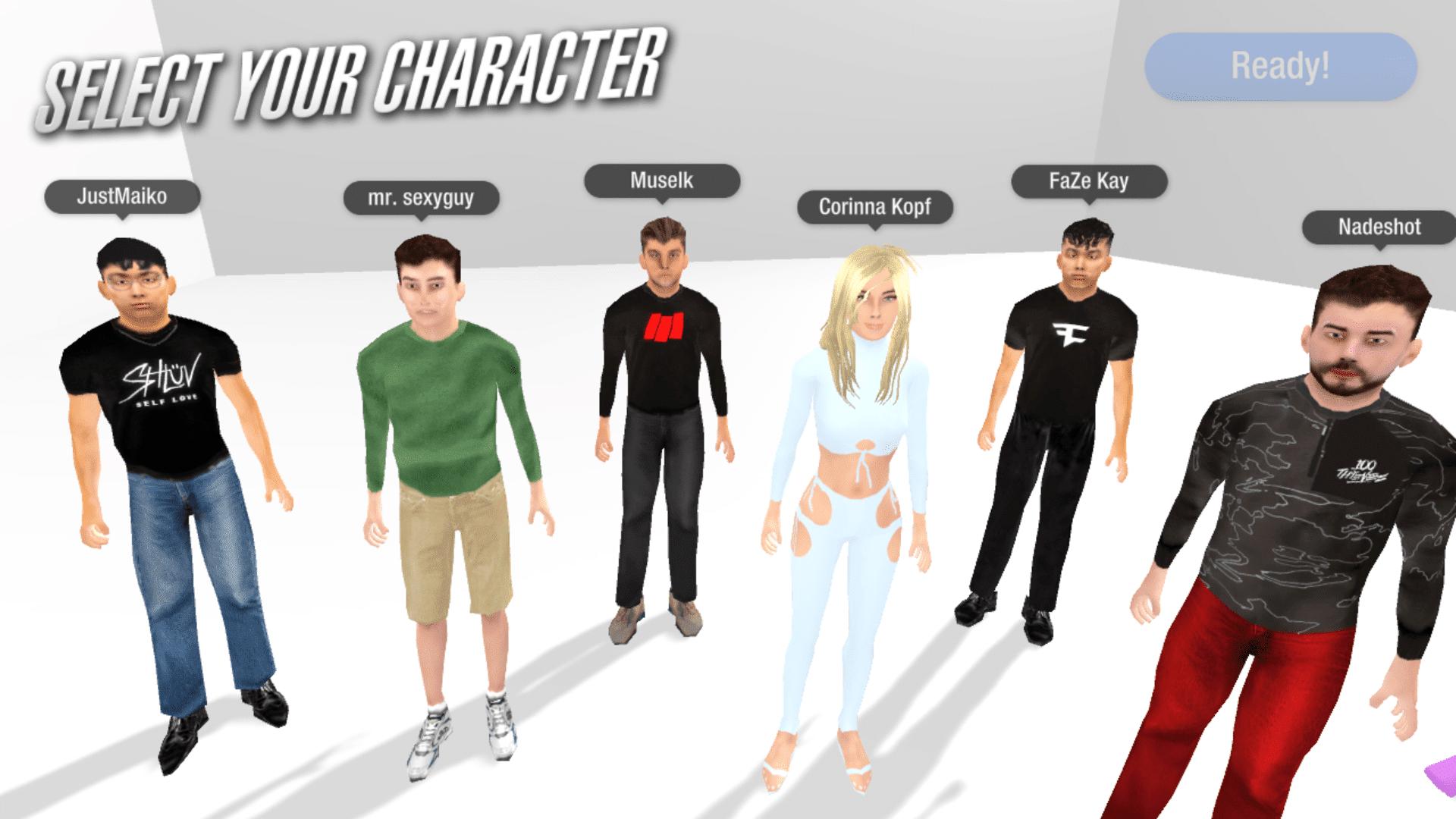 Chair Simulator - Characters