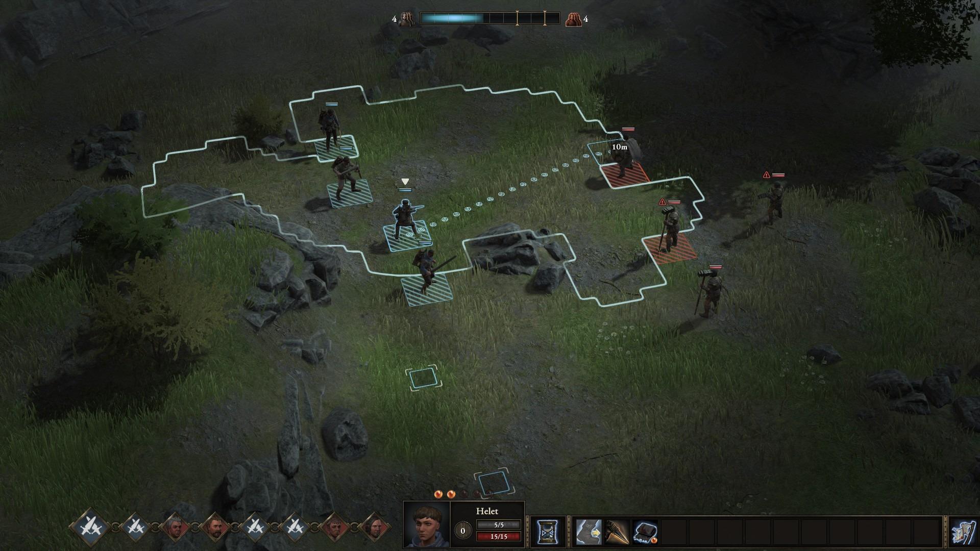 Wartales - Gameplay