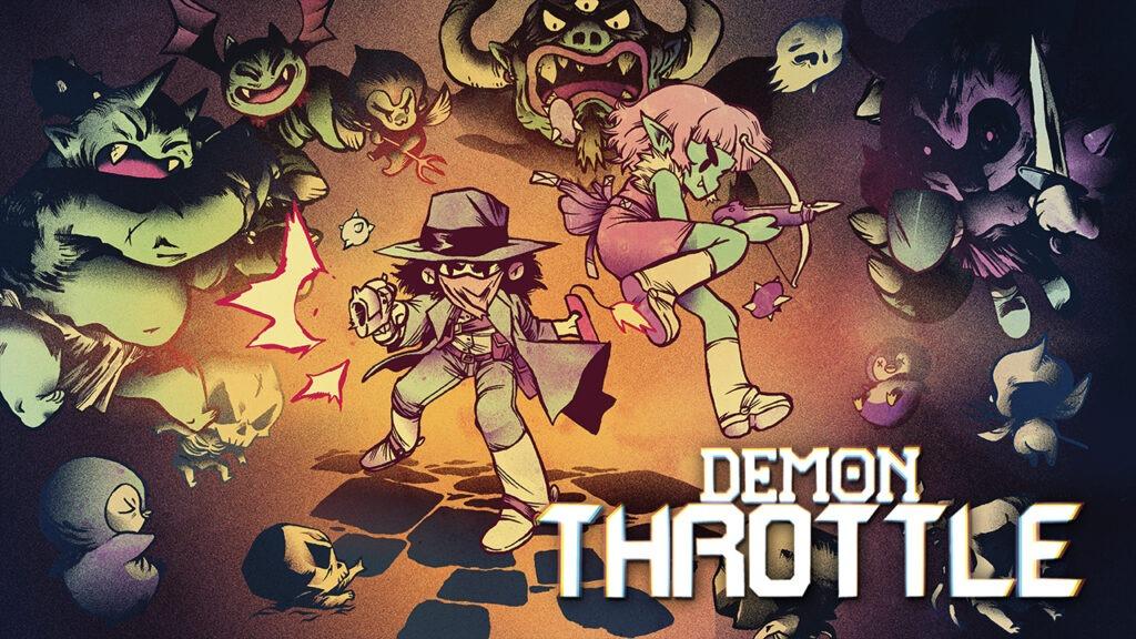 Demon Throttle Key Art - Devolver Digital