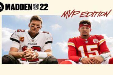 Madden NFL 22 Key Art