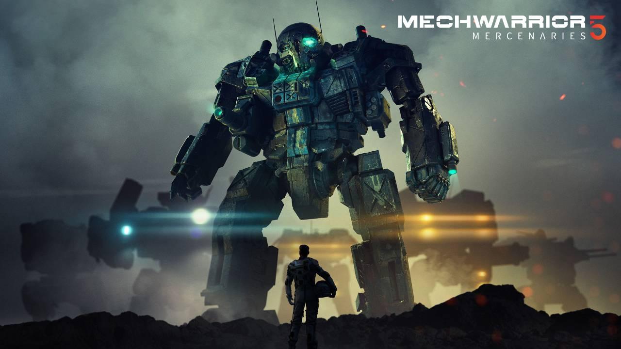 PC Gaming Show - Mechwarrior 5: Mercenaries