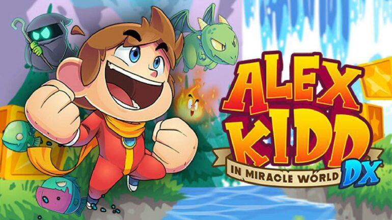 Alex Kidd in Miracle World DX - The Game Crater Feature Image