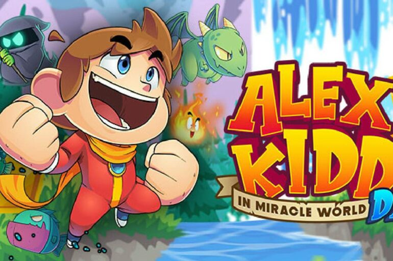 Alex Kidd in Miracle World DX - Feature Image