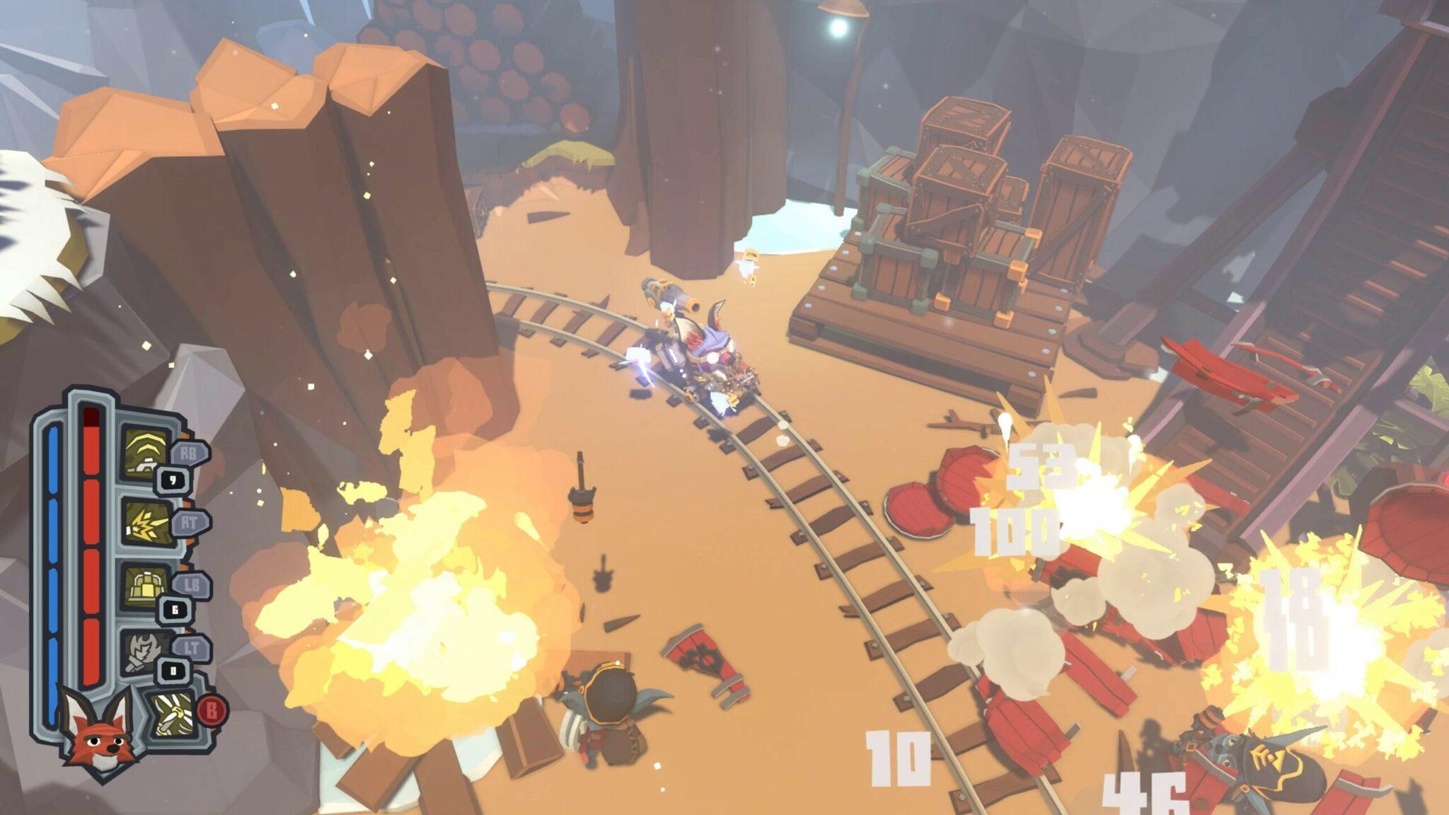 Trifox - Gameplay