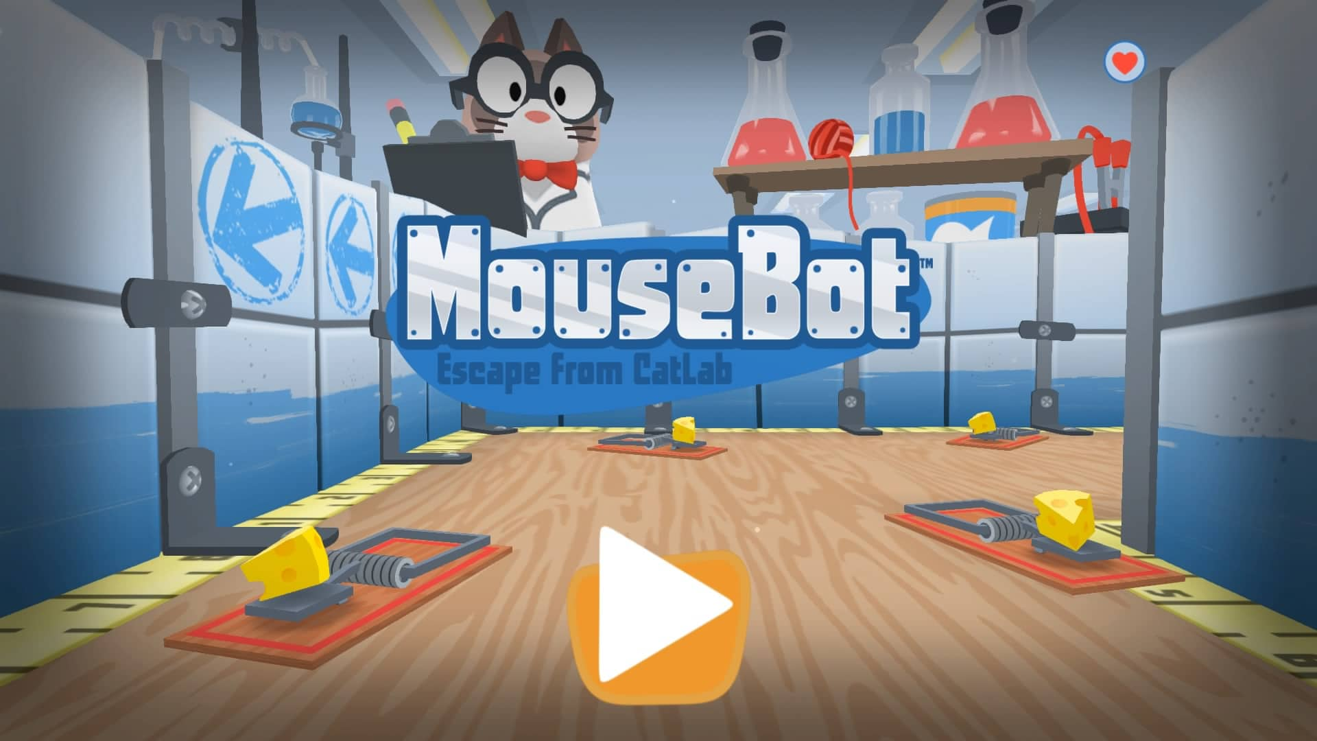 Mousebot: Escape From Catlab - Feature Image