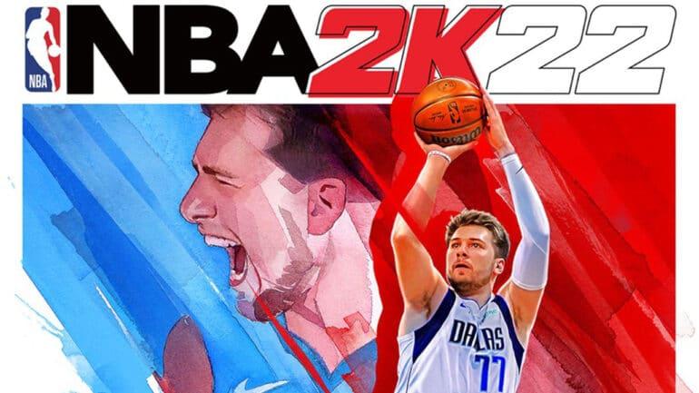 NBA 2K22 Key Art