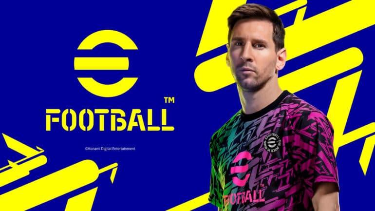 eFootball Messi Key Art