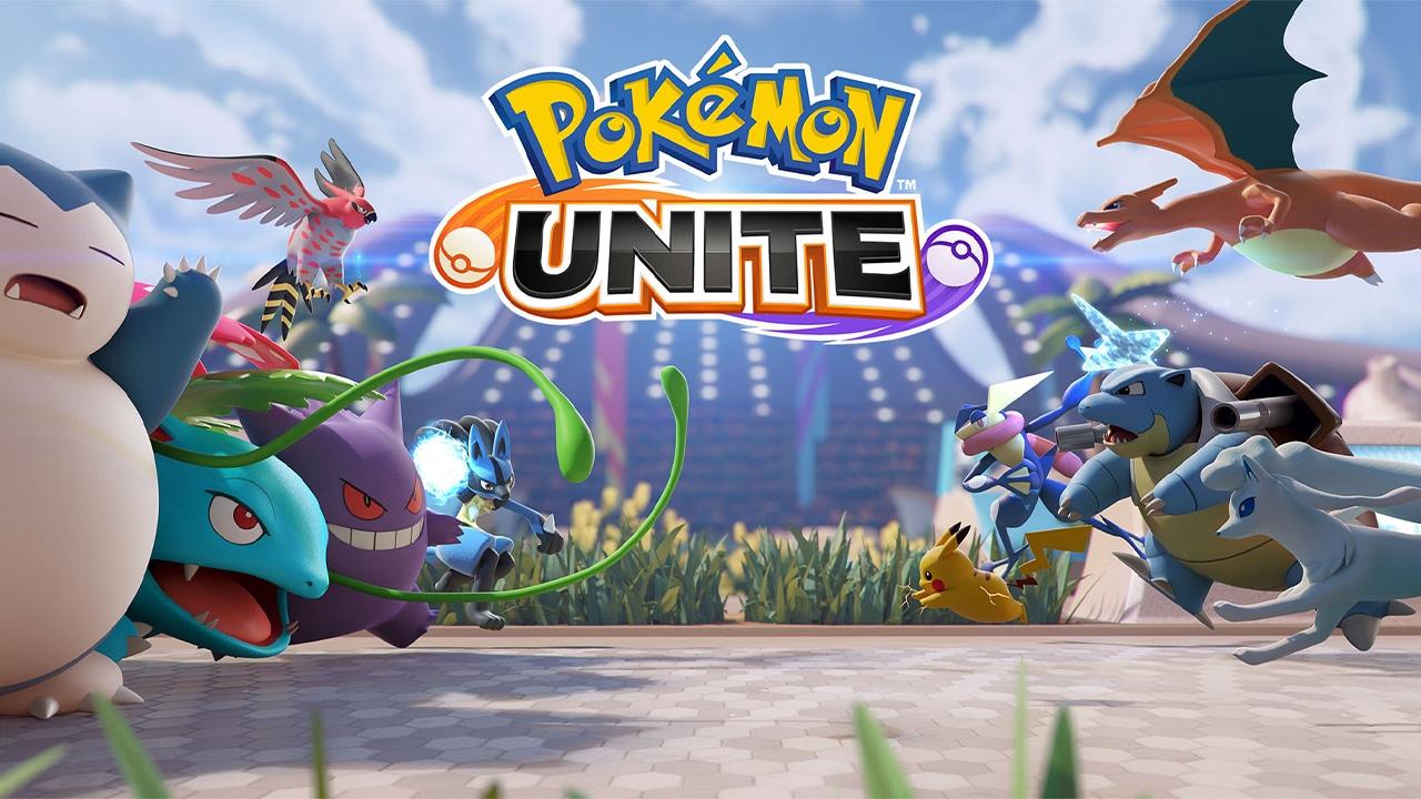 Pokémon Unite Key Art