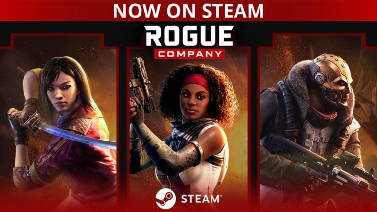 Rogue Company Steam Key Art