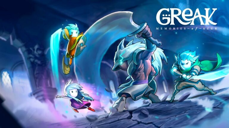 Greak: Memories Of Azur Key Art