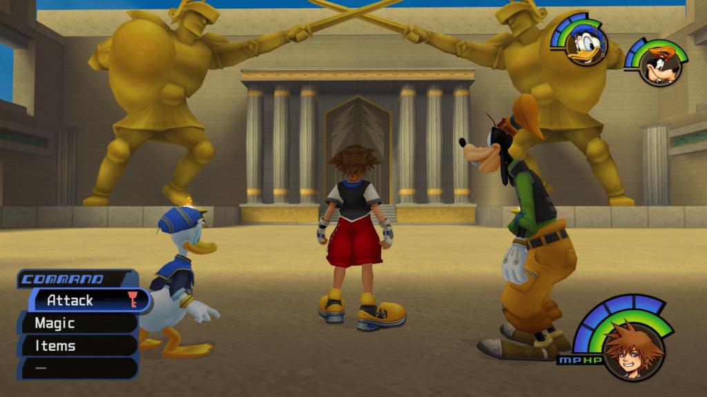 olympus Kingdom Hearts Olympics 2020