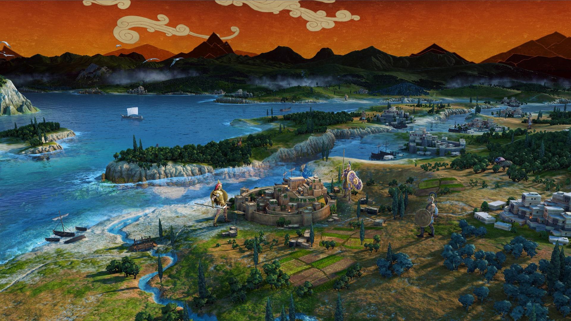 A Total War Saga: Troy - Gameplay