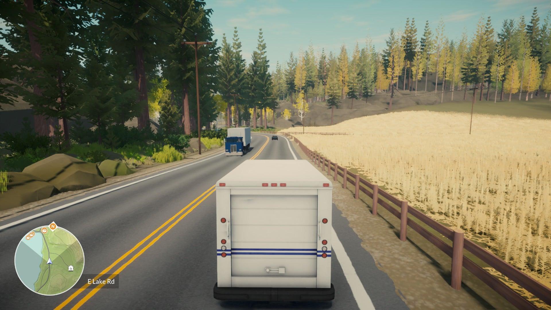 Lake - Driving