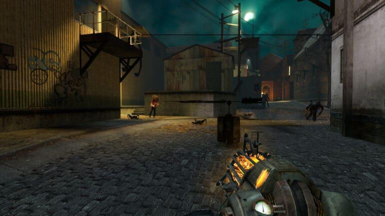 Half-Life 2 Key art