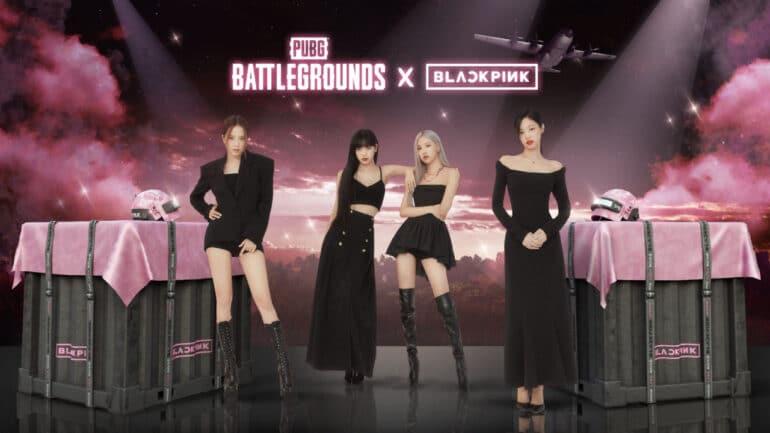Blackpink PUBG Collab