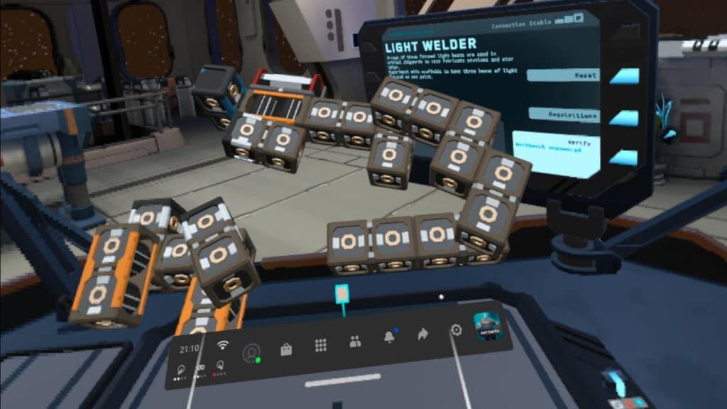 Arcsmith In-game Screenshot