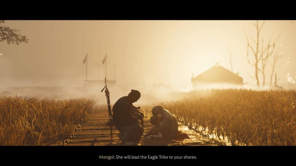 Ghost of Tsushima: Iki Island DLC Screenshot The Eagle