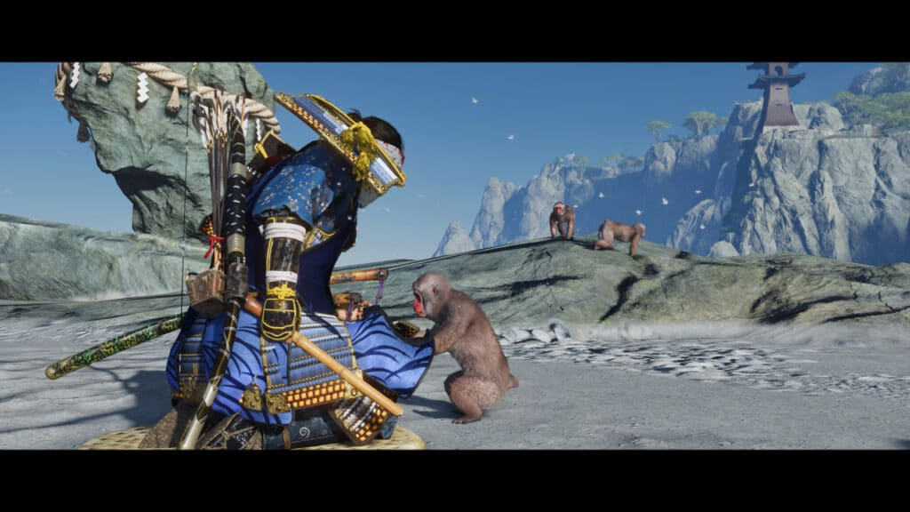 Ghost of Tsushima: Iki Island DLC Screenshot Monkey