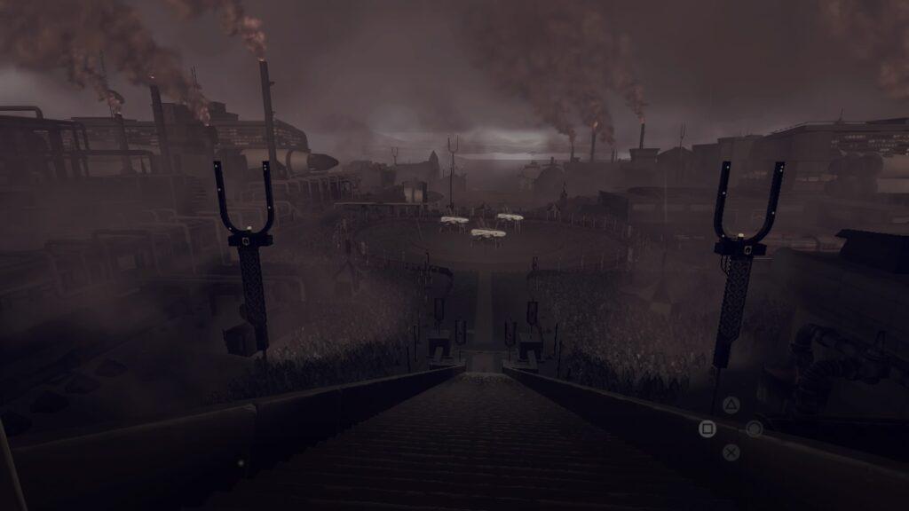 JETT: The Far Shore Dark Gloomy Steampunk city