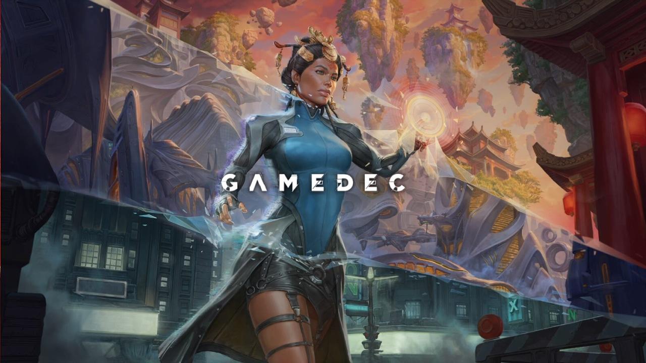 Gamedec Kickstarter Key Art