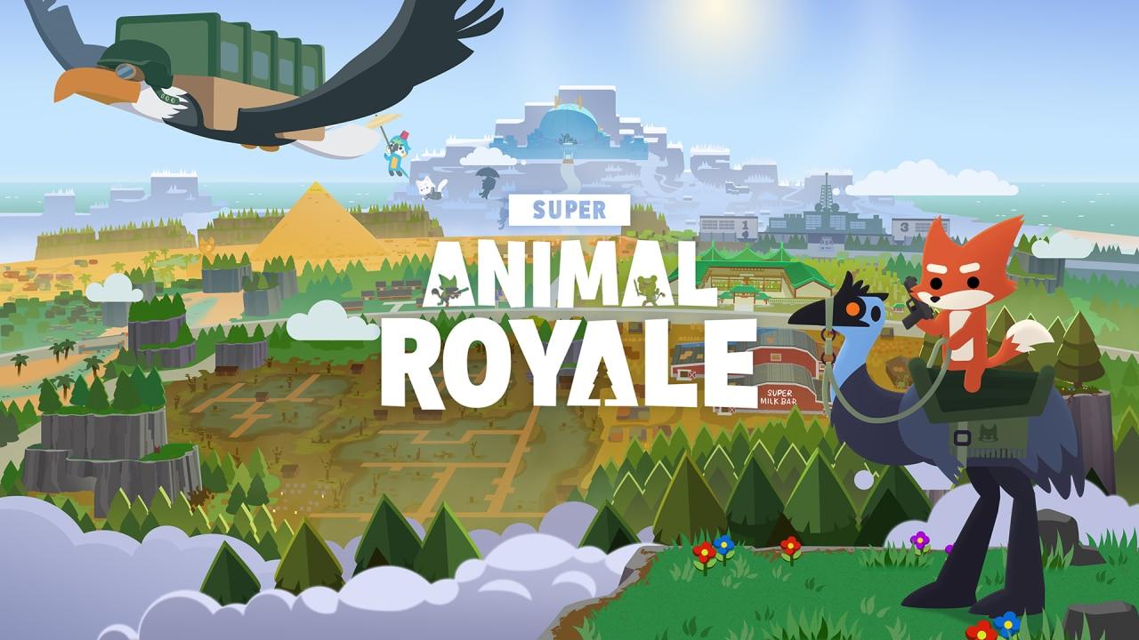 Super Animal Royale Key Art