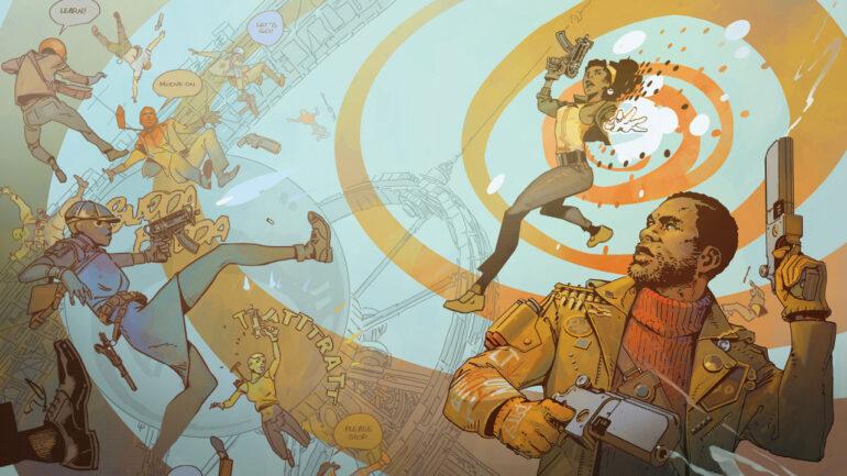 Deathloop Decorative Wallpaper 1280x720