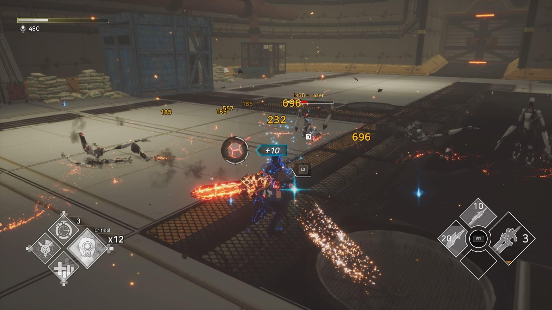 Ultra Age - Combat