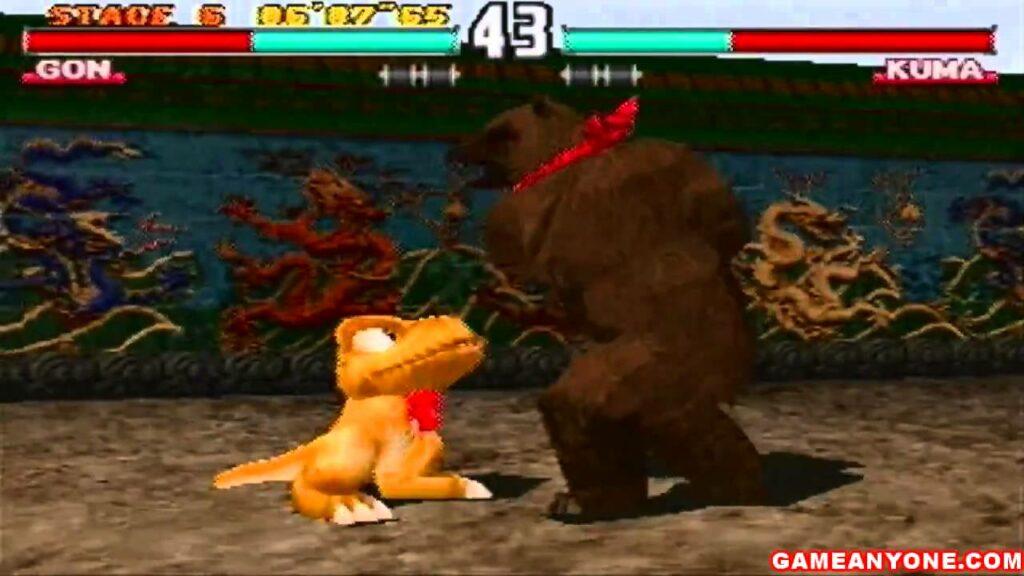 Gon Tekken 3