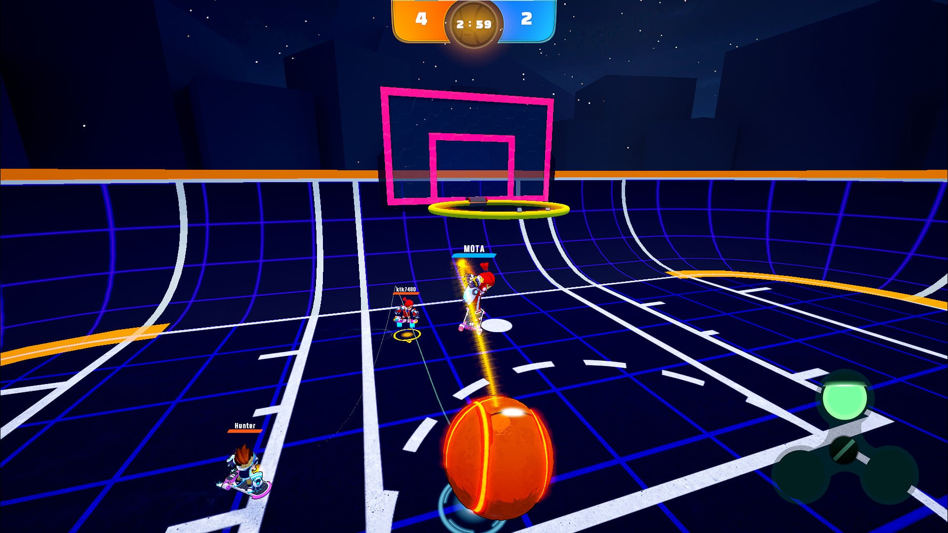 Swing Dunk - Gameplay